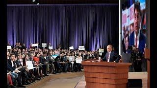 13-ый раз: итоги пресс-конференции Путина