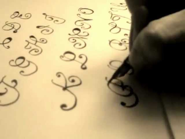 Write Cursive Fancy Letters For Beginners