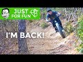 Back from Injury, Fat Bike ASMR, & Berm Creek