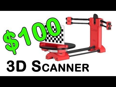$100 DIY Ciclop 3D Scanner - LIVE laser scanner build and first test!