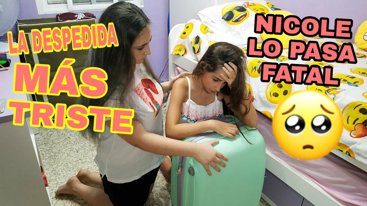 LA DESPEDIDA MÁS TRISTE/NICOLE LO PASA FATAL