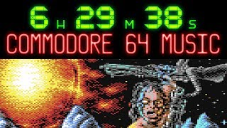 6 1/2 hours of Commodore 64 SID Music