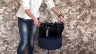 Черная сумка - эксклюзивный кроко - Style Line(Стильная сумка классического дизайна выполнена из высокопрочного, Турецкого кож-зама в лаке с имитацией..., 2015-10-28T18:53:51.000Z)