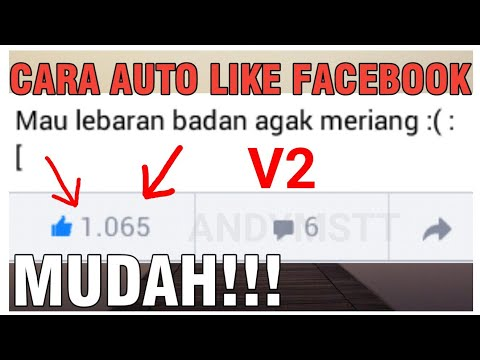 Cara Auto Like Facebook v2 100% Work [andymstt]