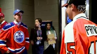 BEHIND THE SCENES  McDavid at the Draft Video (Edmonton Oilers)