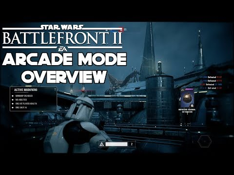 Arcade Mode Overview and Gameplay   Star Wars Battlefront 2