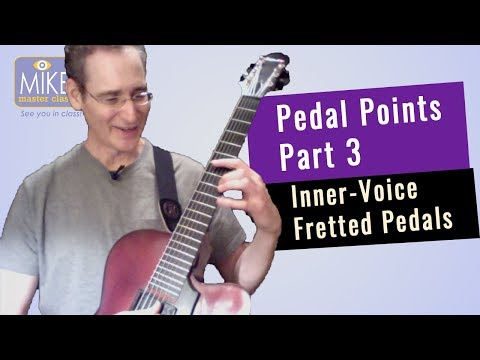 Pedal Points Part 3: Inner-Voice Fretted Pedals | Steve Herberman
