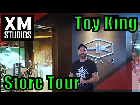 Store Tour Toy King Bangkok (XM Studios)