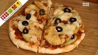 Fruit Pita Pizza - Mummy Ka Magic