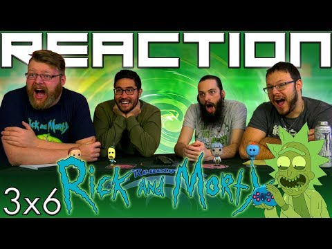 "Rick and Morty 3x6 REACTION!! ""Rest and Ricklaxation"""