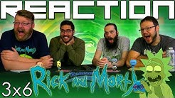 """Rick and Morty 3x6 REACTION!! """"Rest and Ricklaxation"""""""