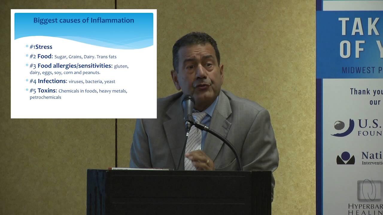 Dr. Marco De La Cruz discusses Whole Health Wellness at the Midwest ...