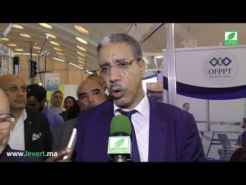 Aziz RABBAH lors de la 11e édition d'Elec Expo
