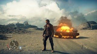 Mad Max Playstation 4 Gameplay (HD) 1080p