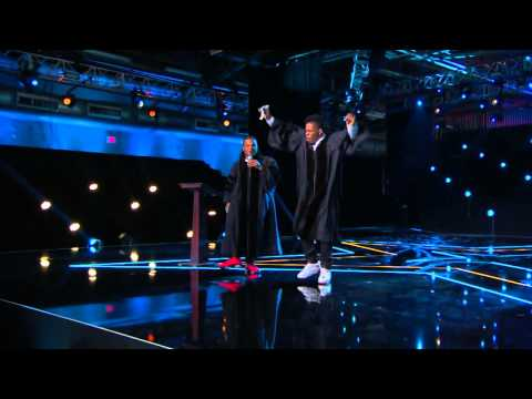 America's Got Talent S09E09 Judgment Week Variety Acts Emmanuel and Phillip Hudson