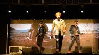 fashion show   udaan 10   infosys chandigarh   bikers theme