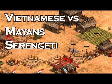 1v1 Serengeti   Vietnamese Vs Mayans   Vs Villese