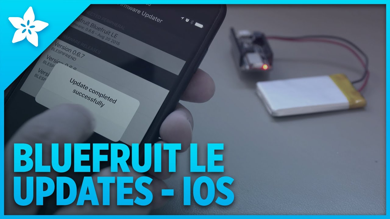 Bluefruit LE Firmware Updates on iOS