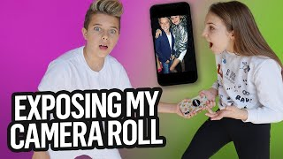 My Girlfriend REACTS to my Camera Roll (Bad Idea) l ft. Piper Rockelle | Gavin Magnus