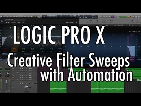 Logic Pro X - Filter Sweeps with Automation