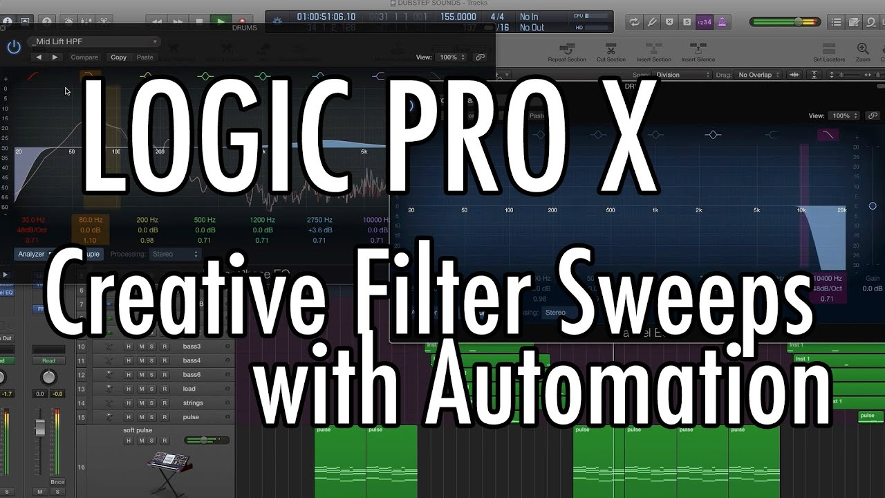 sweepstakes logic logic pro x filter sweeps with automation youtube 7689