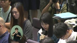 [直播]  施政報告記者問答會