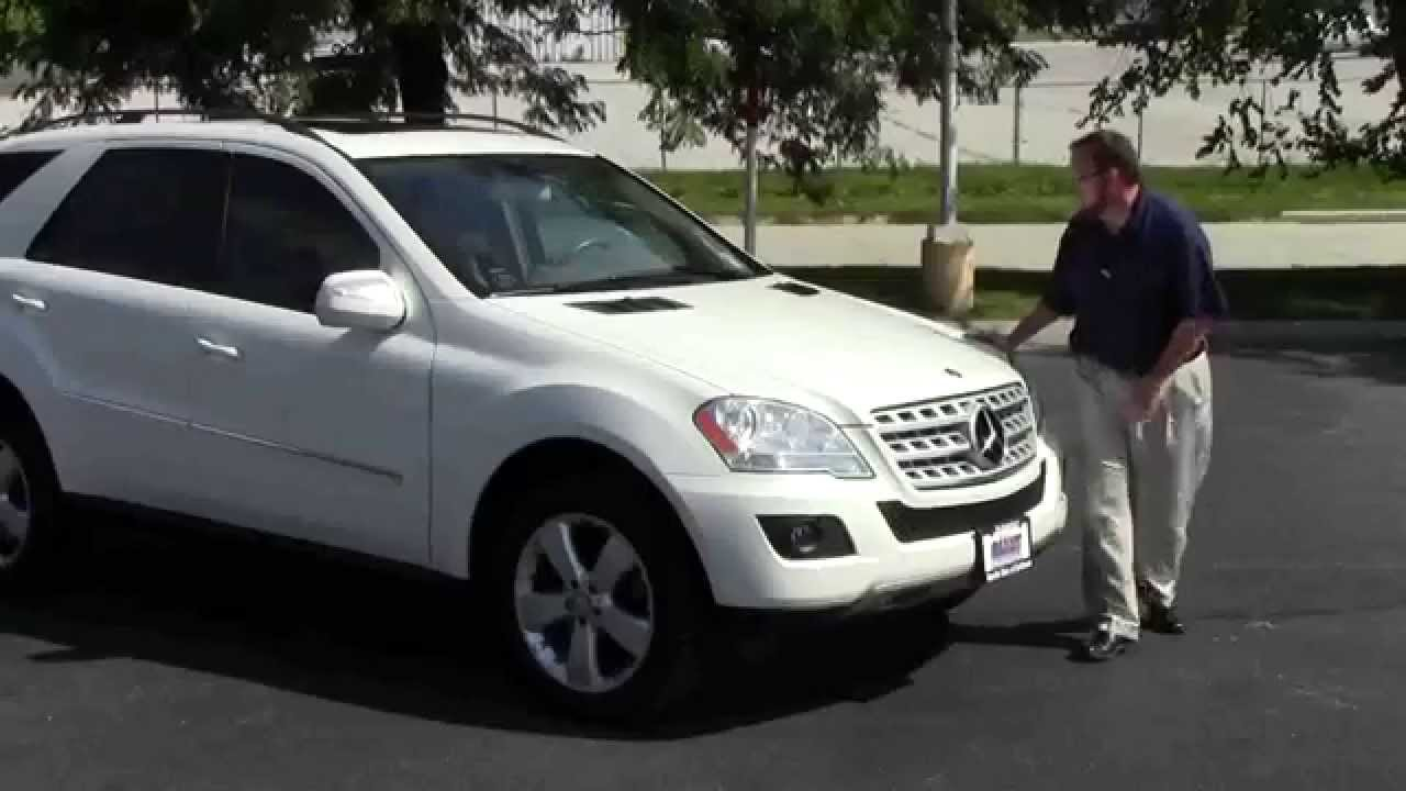 used 2009 mercedes benz ml350 for sale at honda cars of