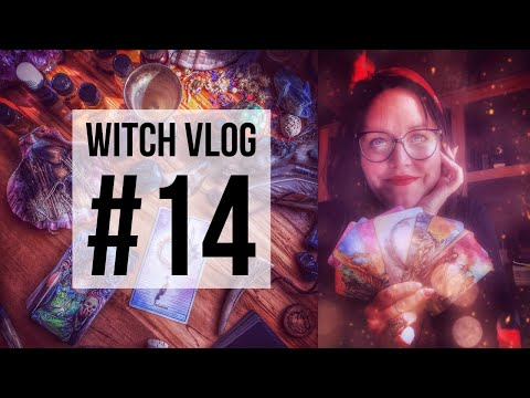 Witch Vlog #14, The Flame of Creation & Some Crystal Helpers (I uploaded 15 before 14 LOL)