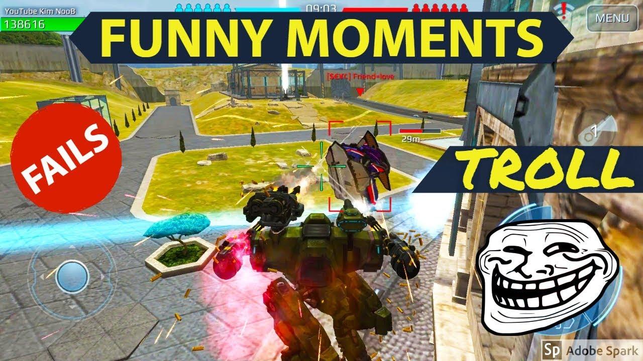 War Robots Funny Moments