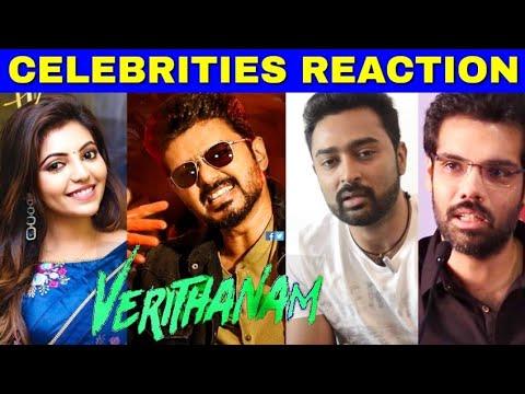 verithanam-song-celebrities-reaction- -thalapathy-vijay,-nayanthara- -atlee- -ar-rahman- -வெறித்தனம்