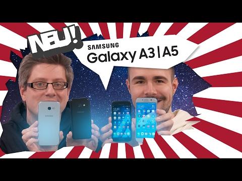 Samsung Galaxy A3 & A5 2017: Unser Erfahrungsbericht (Deutsch)