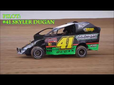Fayette County Speedway #41 Skyler Dugan 600 Modified 6/21/19