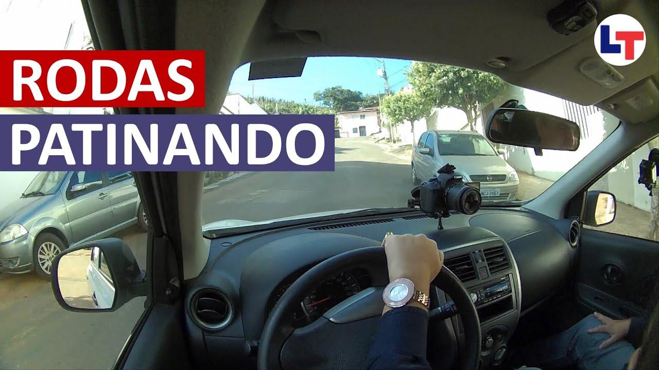 O QUE FAZER PARA O CARRO NÃO PATINAR NA SUBIDA #DirigirEuPosso  #LegTransito