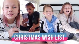 What I Want For Christmas | Christmas Wish List | The LeRoys