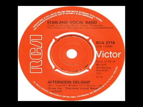 Starland Vocal Band  Afternoon Delight 1976