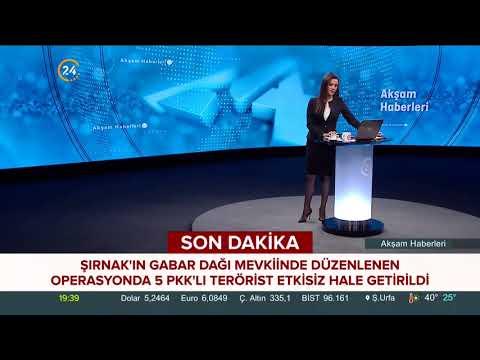 Şırnak Gabar Dağı'nda düzenlenen operasyonda 5 PKK'lı terörist etkisiz hale getirild