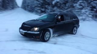 Chrysler Pacifica winter drift