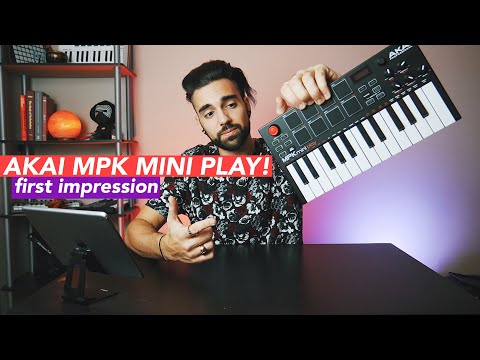 AKAI MPK MINI PLAY FIRST LOOK & SOUND TEST!