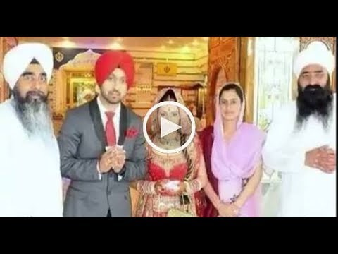 Diljit with his wife