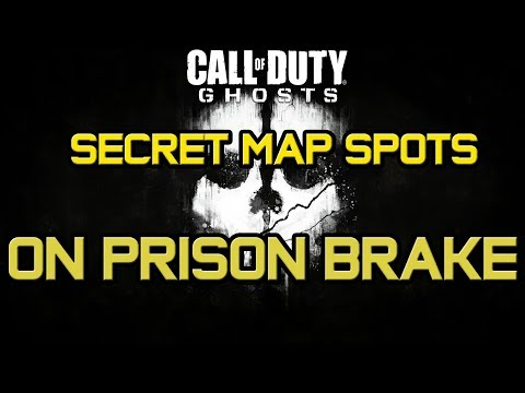 COD Ghosts : Secret Map Spots - Prison Brake