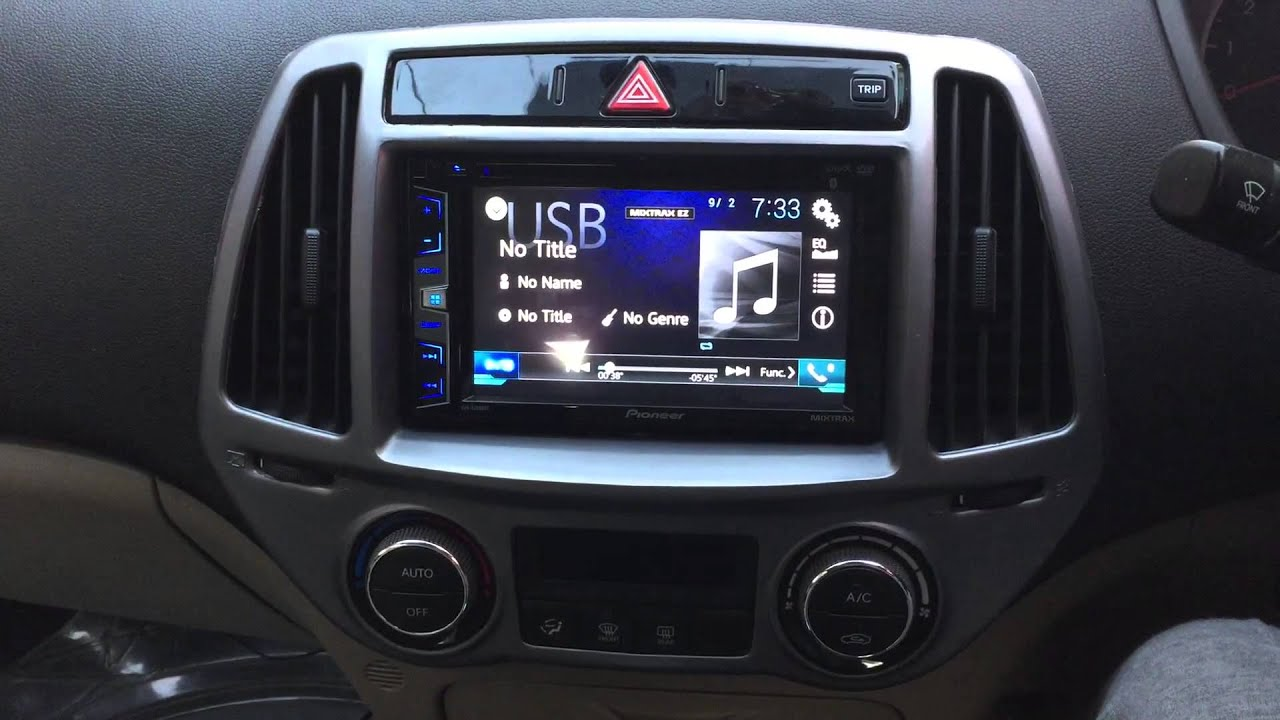 Hyundai I20 Sportz Car Music Setup Sony Amps Pioneer
