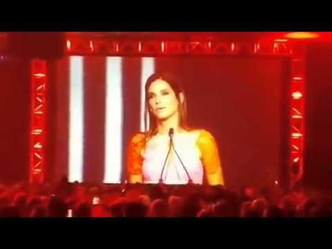 Sandra Bullock - Acceptance Speech at the Palm Springs International Film Festival (Jan.4th 2014)