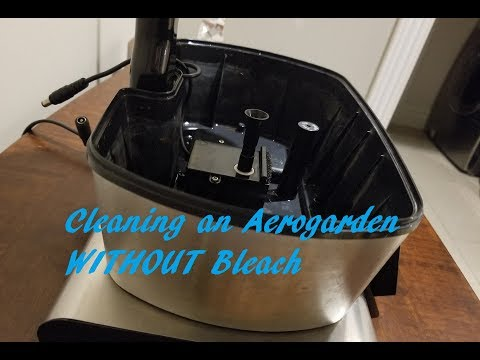 Cleaning an Aerogarden Without Bleach