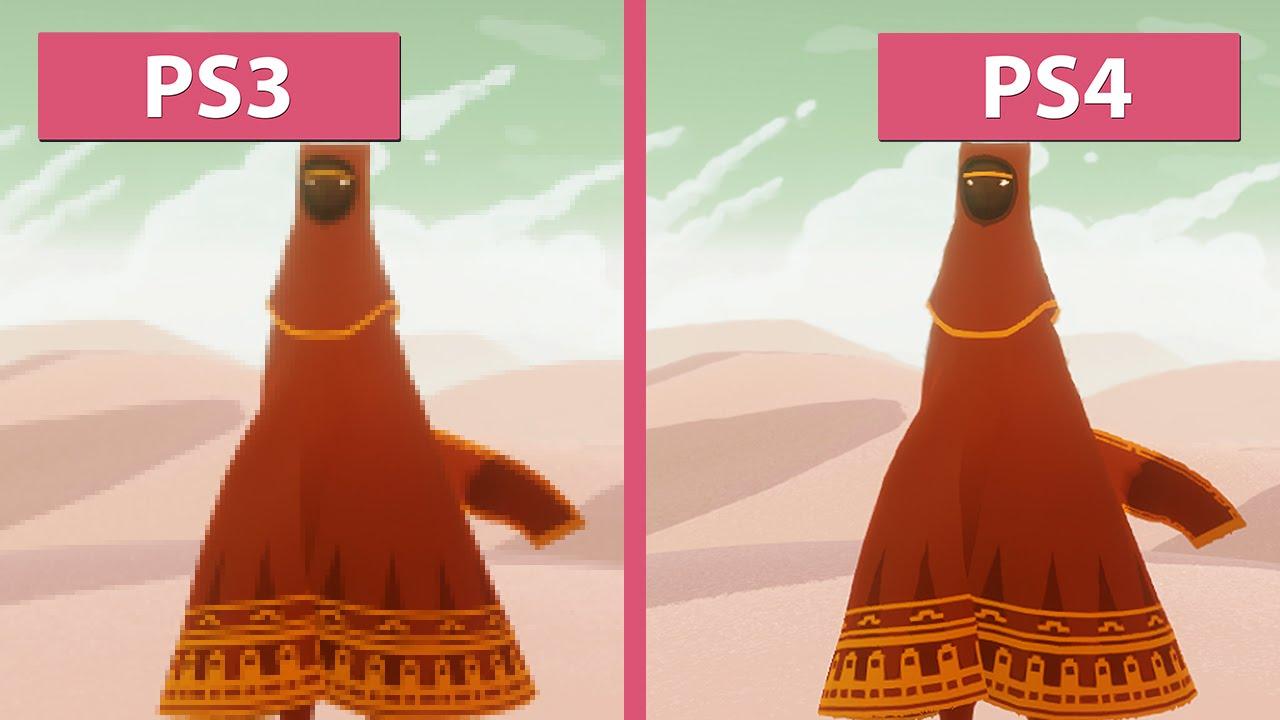Journey – PS3 vs. PS...