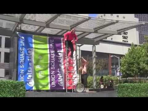 union square acrobats - 6 29 2014