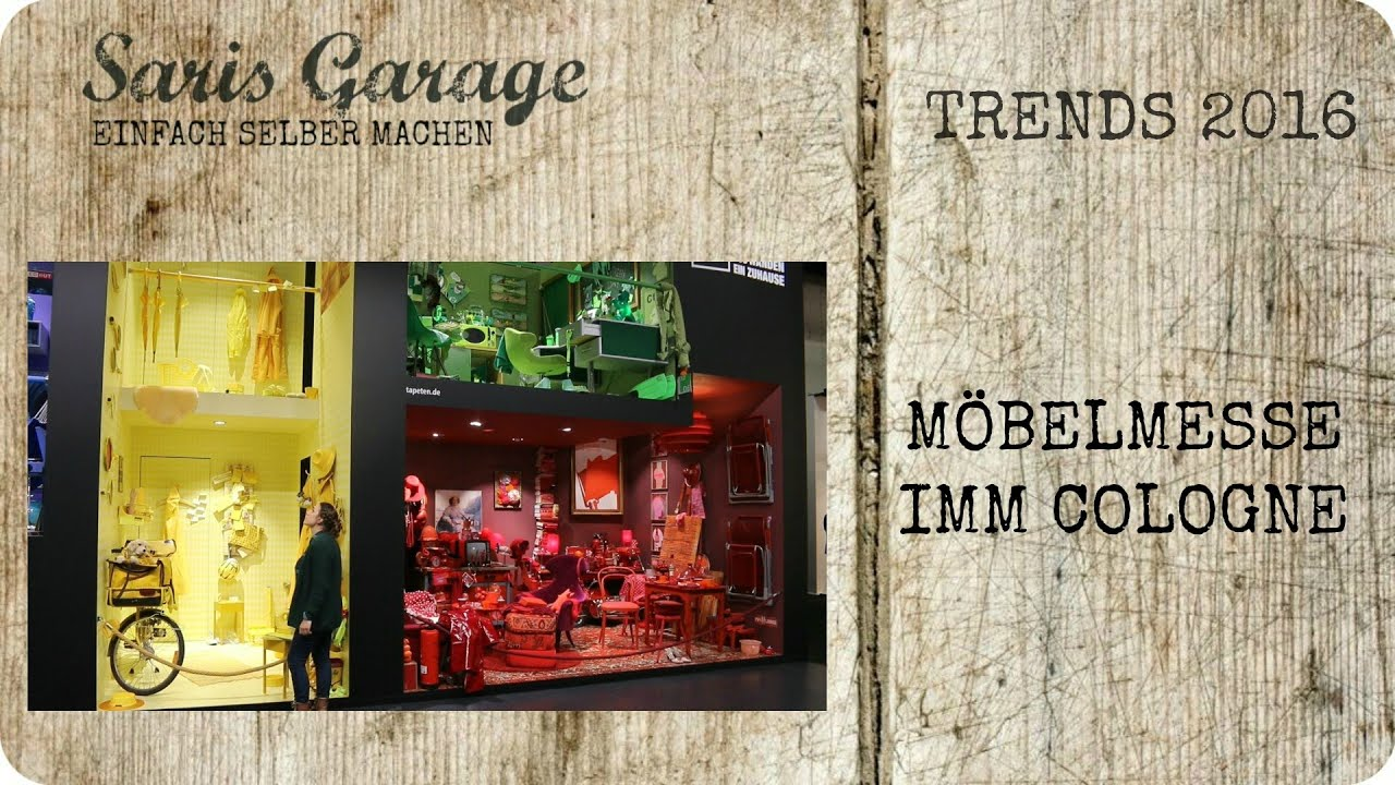 imm 2016 messe trendfarben imm cologne m bel trend trends interior furniture youtube. Black Bedroom Furniture Sets. Home Design Ideas