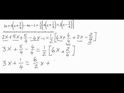 Espressioni con parentesi from YouTube · Duration:  5 minutes 57 seconds