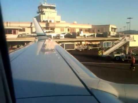 Alaska Airlines B737 800 Burbank Pushback W Emergency