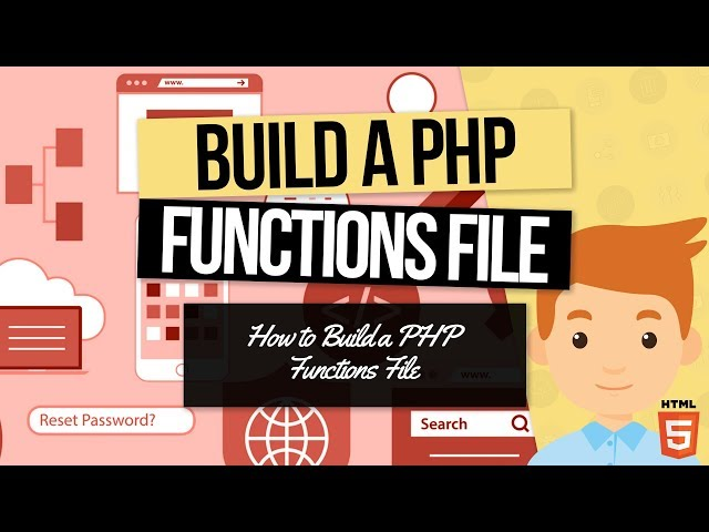 PHP Forms Tutorial: Build the Functions File In PHP