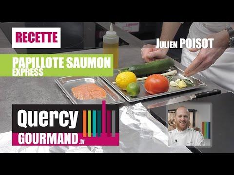 Recette : Papillote de saumon EXPRESS – quercygourmand.tv